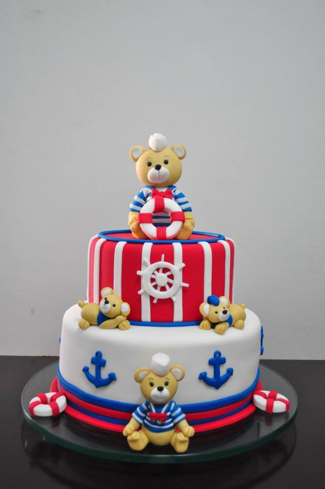 Sailor Teddy Bear Cake