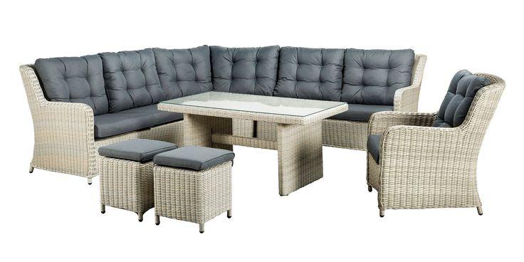 SUNS Almeria - Lounge set - SUNS Blue Collection - 7 parts