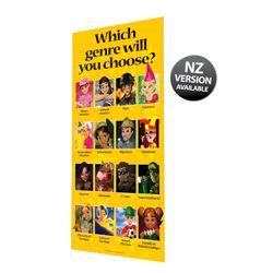 Choosing Your Genre Banner Poster