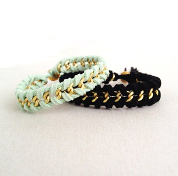 DIY Braided Bracelets | 20 Beautiful Handmade Designs for Rings, Bracelets and Necklace, see tutorials at  http://diyready.com/diy-jewelry-ideas/