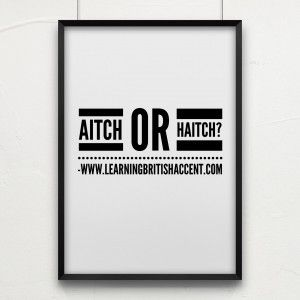 #Britishaccent tips: Do you say AITCH or HAITCH - Learning RP British Accent