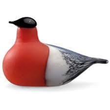 iittala Toikka Bullfinch Glass Bird £185 Free Shipping