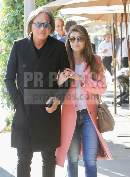 Mohamed Hadid and Shiva Safai Sighted at Lunch in Beverly Hills on January 11 2018
