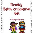 This monthly behavior calendar set includes the months of August-June. Each calendar includes a behavior code chart to aide in marking calendars da...