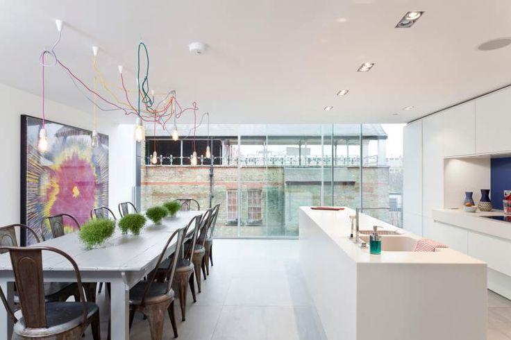 Transformer un ancien château d'eau londonnien en une maison moderne » Mosa. Tegels.