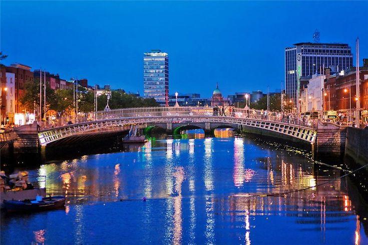 ДУБЛИН. ИРЛАНДИЯ. Dublin, Ireland.