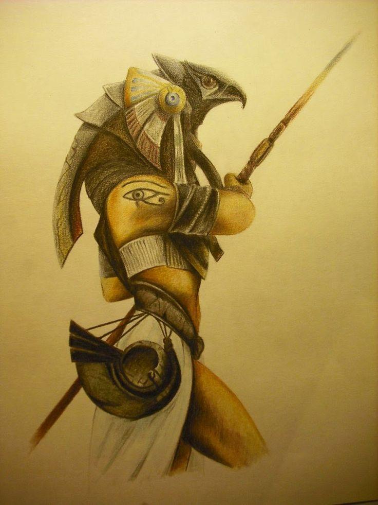 horus__dios_egipcio_by_sorenelrowien-d3eswj2.jpg (774×1032)