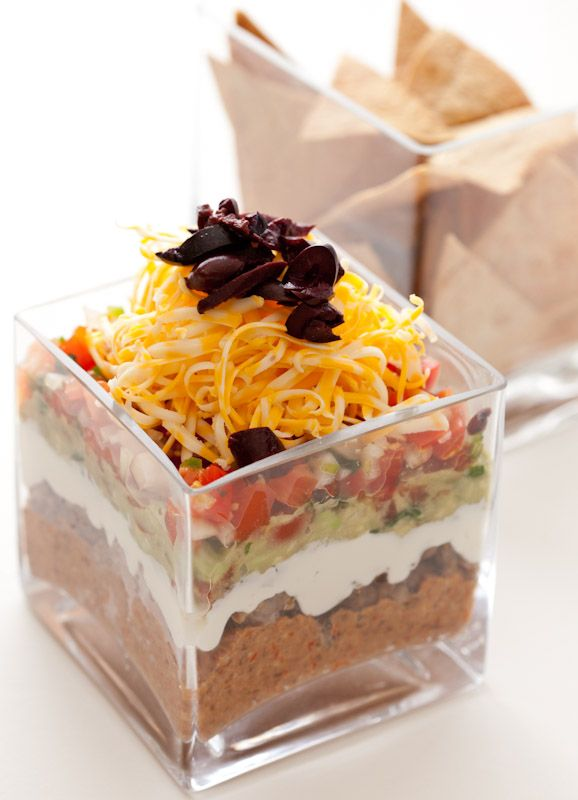 Low Carb Seven Layer Dip