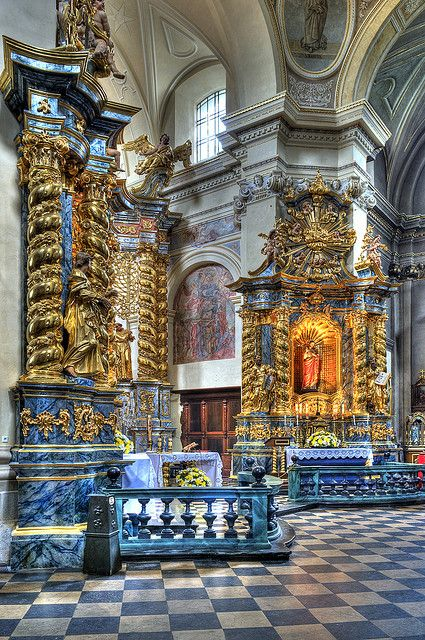 Church of St. Bernard's , Krakow, Poland by JerzyW, via Flickr