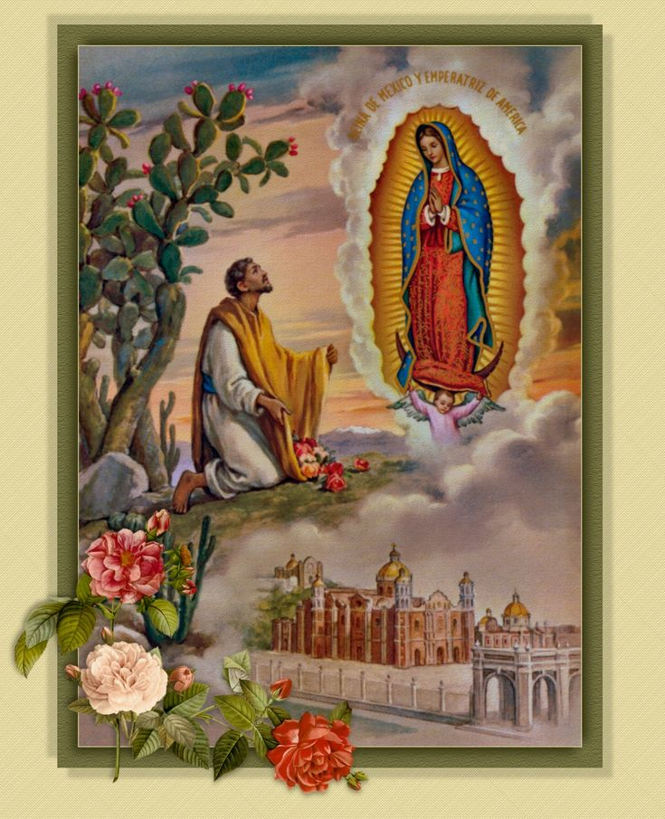 Marian Devotions, including Our Lady of Guadalupe.