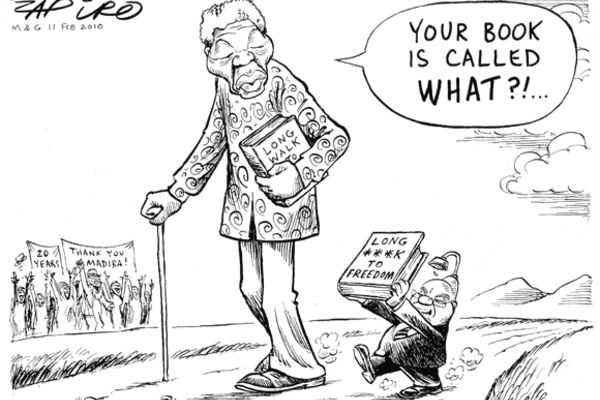 what is the shower on zuma by zapiro - Google Search