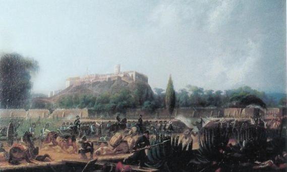 Con la pérdida de la batalla del Castillo de Chapultepec se perdió el control de la nación y la confianza en la soberanía nacional, el 14 de septiembre con