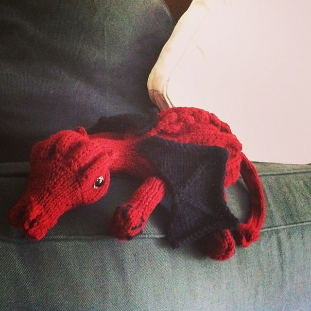 Dragon Wings Knitting Pattern : 171 best images about Knitting toys knuffels free pattern on Pinterest Free...