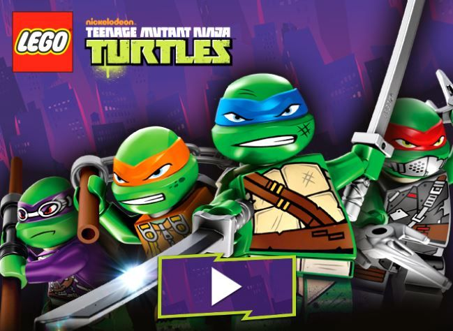 Our LEGO Teenage Mutant Ninja Turtles Game Is Live On LEGO.com Now! Http