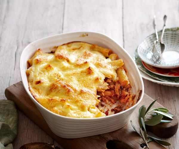 Creamy bolognese pasta bake recipe | Food To Love