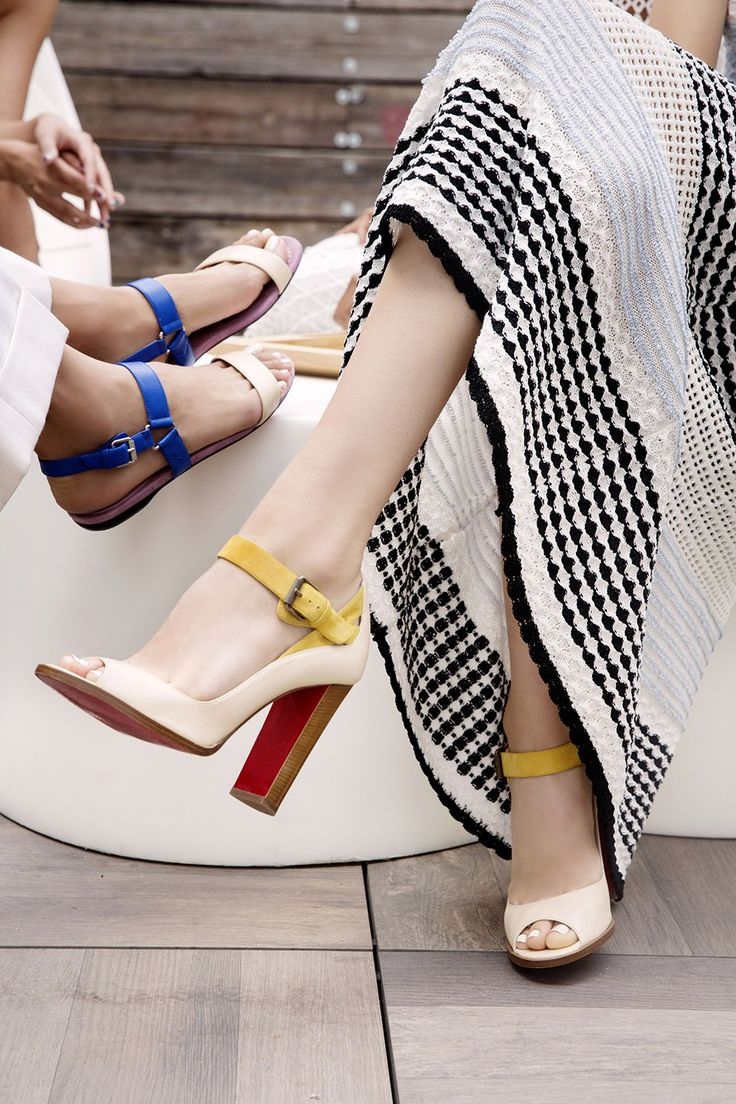 News - Christian Louboutin Online Boutique - Inspired by Women: Christian Louboutin at NYFW Spring/Summer 2016