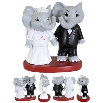 Big Al Logo Wedding Cake Topper | University of Alabama Supply Store