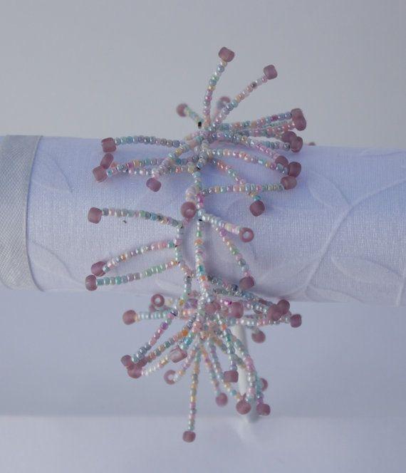 Beaded Pink Coral Bracelet