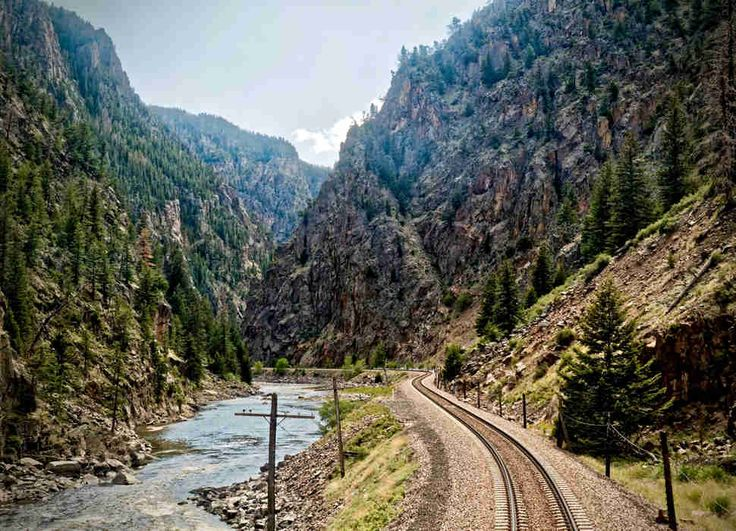 California Zephyr: Chicago, Illinois to Emeryville, California  - cheapest, scenic train rides