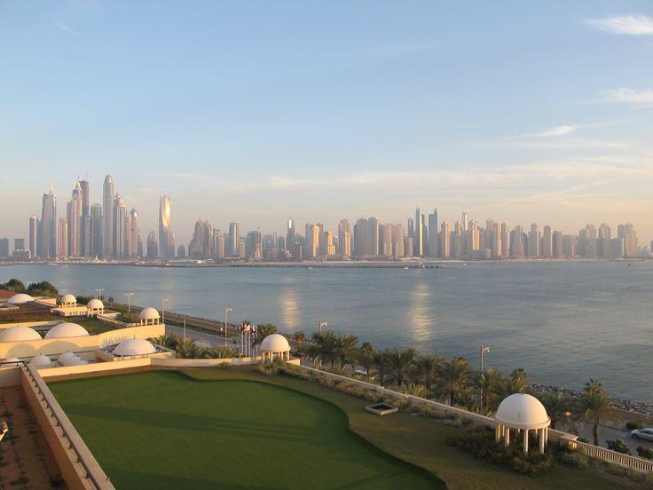 Dubai view from Palm Jumeirah