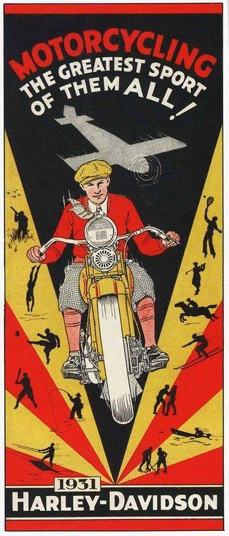 Vintage Harley-Davidson ad                                                                                                                                                                                 Más