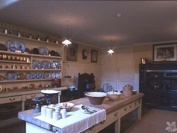48 best georgian homes: kitchen & servant images on pinterest