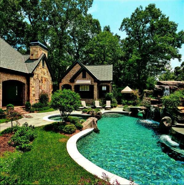 A Lazy River In The Back Yard