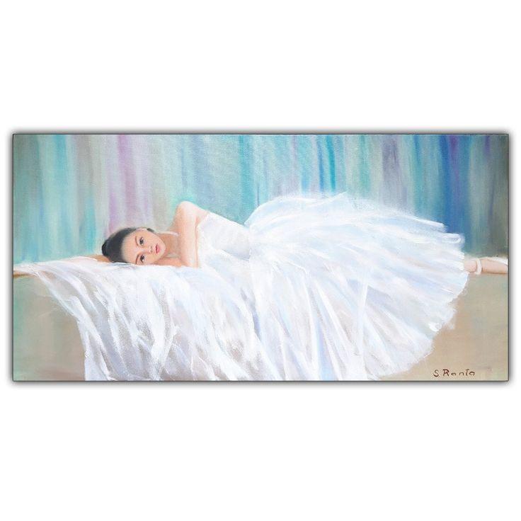 """Oil Painting """"Balet Girl"""""""