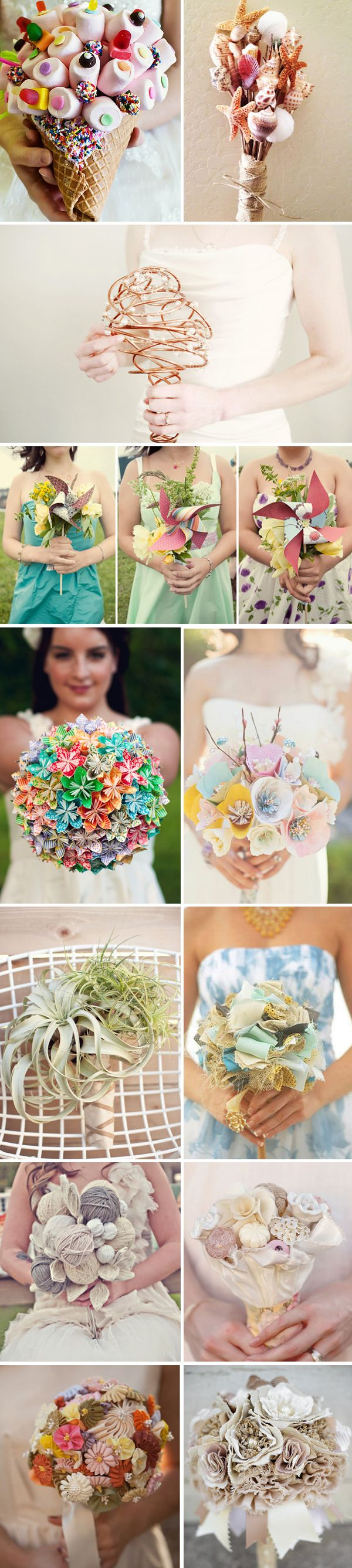 Wedding bouquets not flowers  Beautiful Wedding Flower Bouquets With Shoes To Match  Butterfly