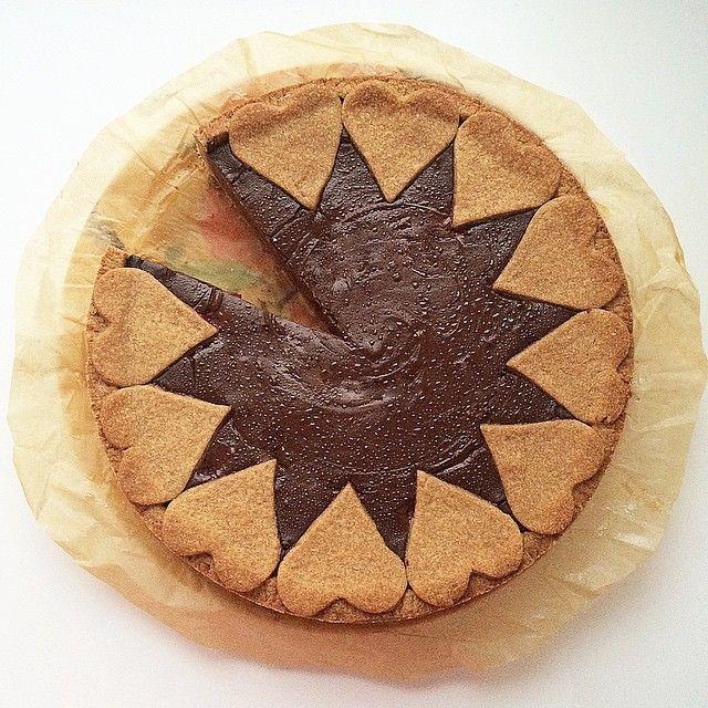 #мусс #шоколад #пирог #pie #chocolate #mousse #heart #homebaking