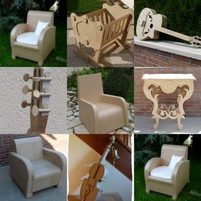 100%Carton -  - Vous fabriquez des meubles en carton