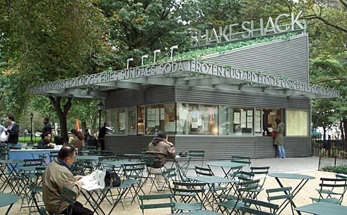 "Danny Meyer's Shake Shack - ""a modern day ""roadside"" burger stand serving the most delicious burgers, hot dogs, frozen custard, beer, wine and more"""