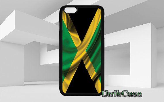 Drapeau de la Jamaïque pour iPhone 4 4 s 5 5 s SE 6 6 par UnikCase1