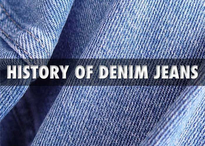 History of Jeans & Denim - from 1890 to modern day, from folk culture to global fashion staple.