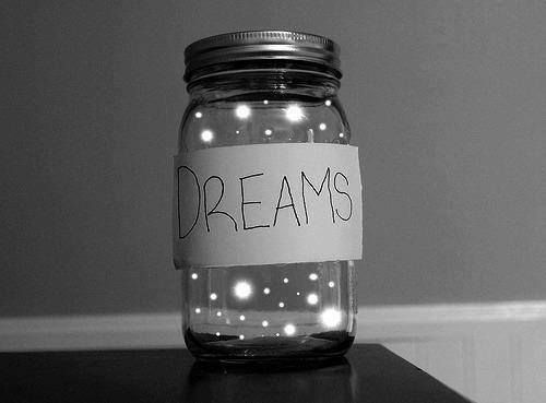 Don't stop to dream, NEVER! <3