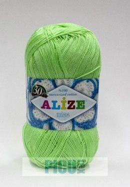 Poze Fir de tricotat sau crosetat - Fir BUMBAC 100% ALIZE MISS VERNIL 478