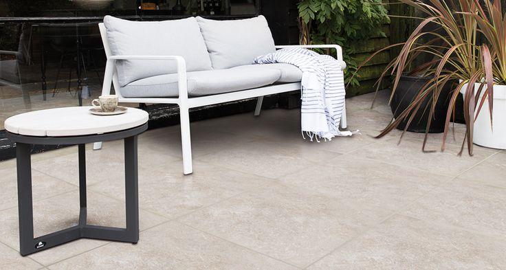 Duostone uni Hormigon Grey in 60x60 cm