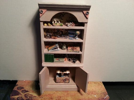 Miniature Bookcase Avory Bookcase  Display by LaboratoriodiManu