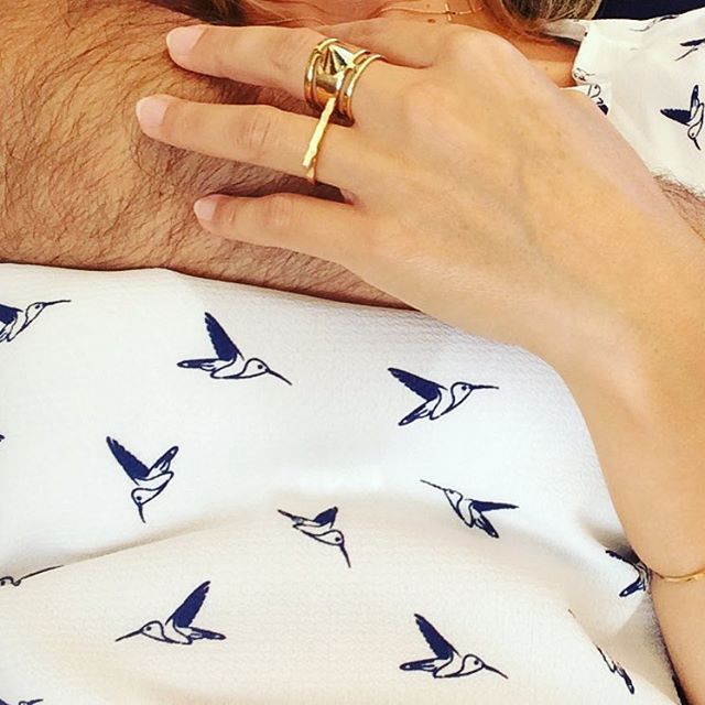 Lovely saturday #love #lesfillesdudetail #oiseaux #bijoux #biarritz #bagues