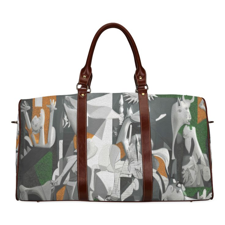 My Picasso Serie:Guernica Waterproof Travel Bag/Large (Model 1639)