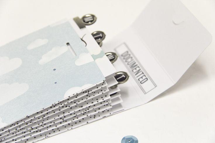 DIY Minialbum mit Ziehharmonika-Bindung | ein Tutorial von Melanie Hoch für www.danipeuss.de #scrapbooking #danipeuss #minialbum
