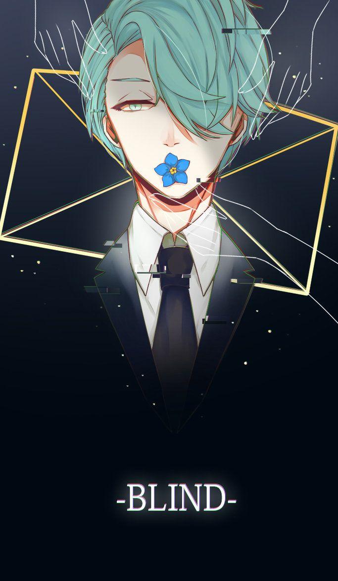 [Mystic Messenger] -BLIND- by Voe-z.deviantart.com on @DeviantArt