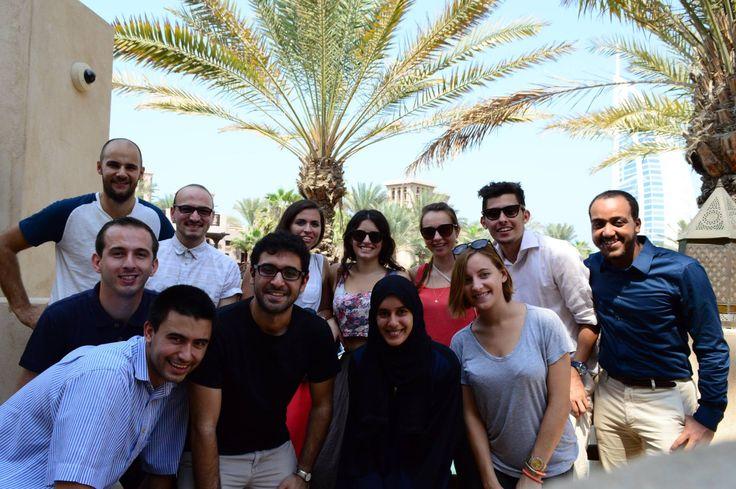 Dubai - UAE: Ilektra is sending us her greetings from Dubai, where she is having her IAESTE internship :)