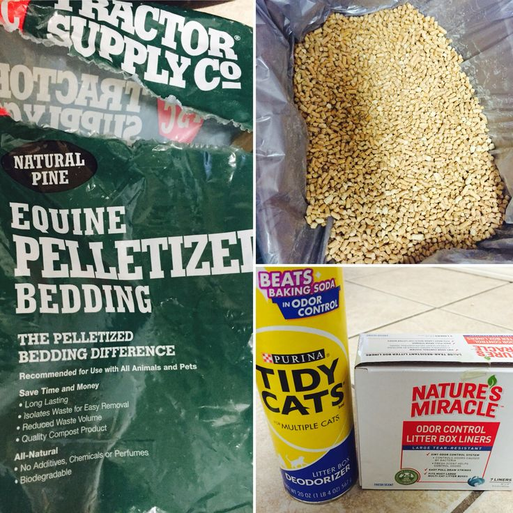 CHEAP NATURAL CAT LITTER  1. Purchase pine pellet horse bedding @ Tractor Supply or local feed store ($5 for 40lb bag last 1 mth)  2. Place litter box liner in pan then sprinkle deodorizer at the bottom 3. Fill pine pellets about 3/4 full....sprinkle deodorizer on top   Each week I dispose entire contents & start fresh (mid week I try to scoop poop out)   I have tried many litters & this has been the best solution for me ....hope it helps :)