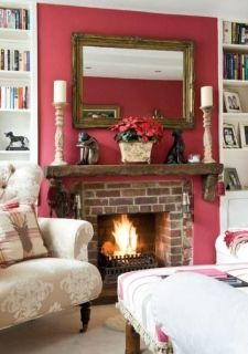 The sitting room is Debbie's favourite winter room and looks particularly cosy with the Laura Ashley Cranberry wall colour. Debbie adapted...