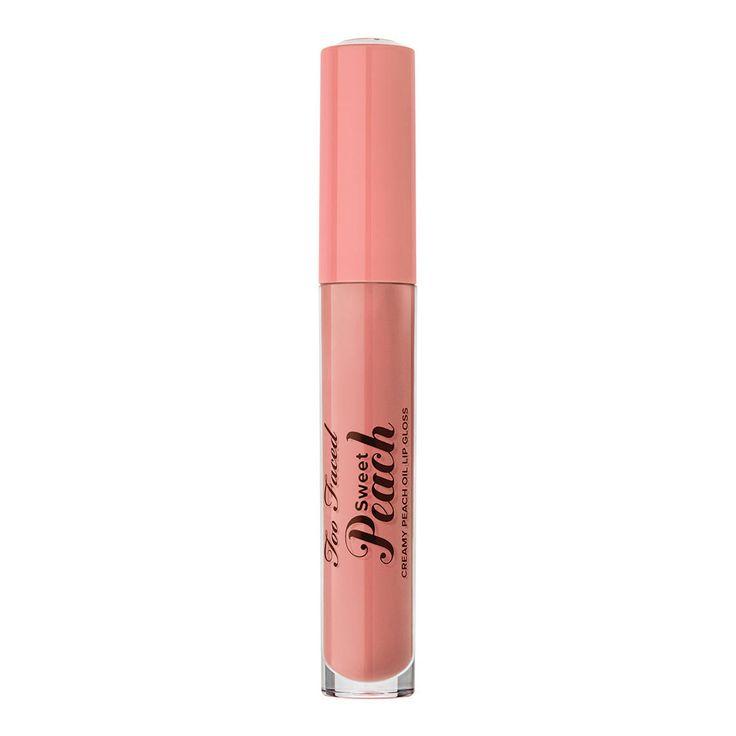 Sweet Peach Creamy Oil - Gloss de TOO FACED sur sephora.fr : Toutes les plus grandes marques de Parfums, Maquillage, Soins visage et corps sont sur Sephora.fr