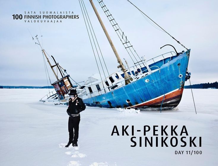 DAY 11/100: Today we celebrate our eleventh Finnish photographer AKI-PEKKA SINIKOSKI!! MORE: http://www.100finnishphotographers.fi/aki-pekka-sinikoski/  #100finphotographers @akipekkasinikoski #akipekkasinikoski #äkkigalleria #finnishphotography #visualartist #finland #suomi100 @suomifinland100 @akkigalleria #portraits_ig