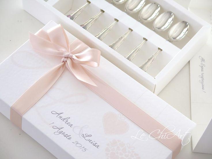 Packaging bomboniera cucchiaini
