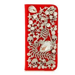 Punk Style Mermaid Skull Leather Case for iphone5: BagsQ.com #fashion cell phone cases #cheap iphone cases #cheap cell phone cases