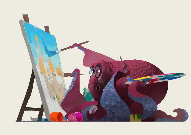 章鱼画家, YU YIMING on ArtStation at https://www.artstation.com/artwork/Xo0bw